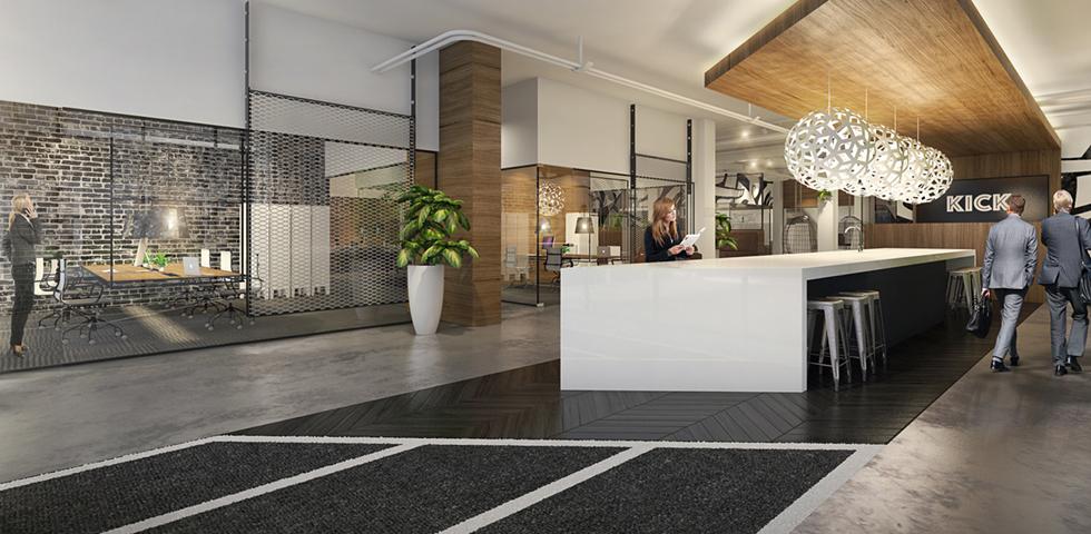 realisatie werkplekken in stadion voor ondernemers. Black Bedroom Furniture Sets. Home Design Ideas