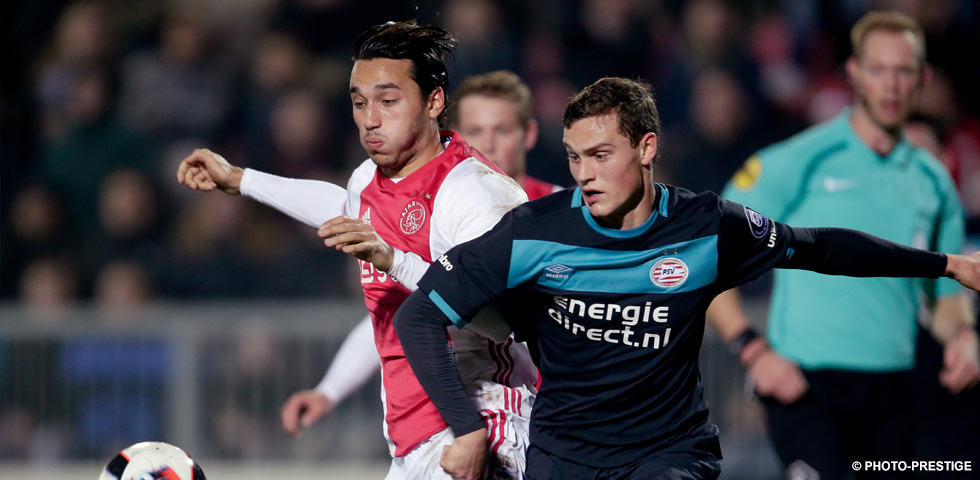 Hendrix makes comeback for PSV U21 in 1-0 defeat