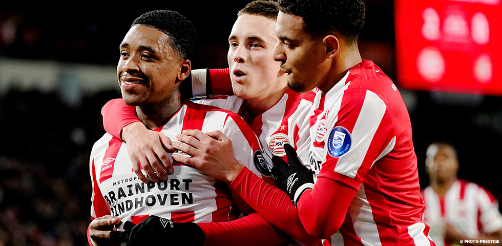 PSV get season back on track with resounding 5-0 win over Fortuna Sittard