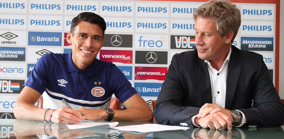 Héctor Moreno signs four-year deal with PSV