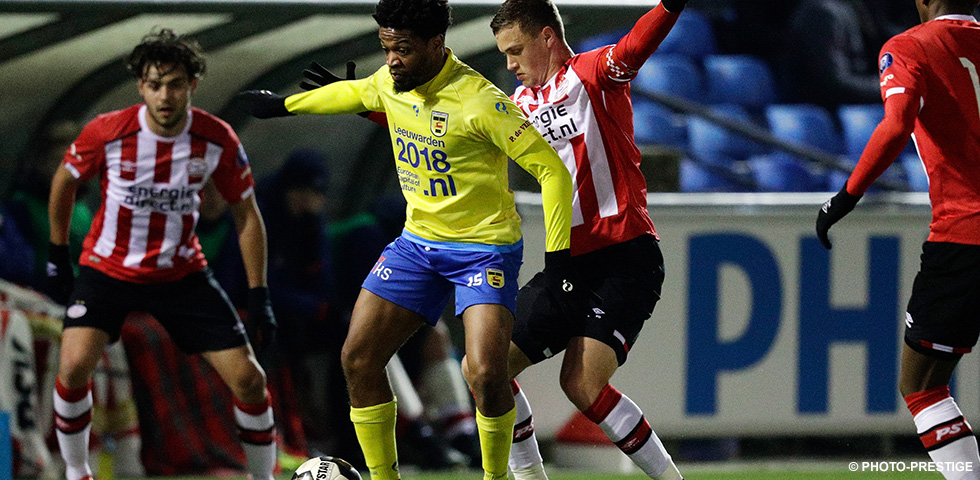 PSV U21 slip down the table after 2-0 home loss to Cambuur
