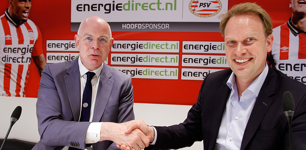 Energiedirect.nl presented as new main sponsor