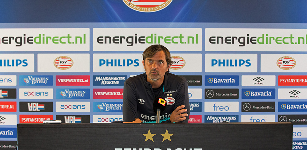 Phillip Cocu is looking forward to top-of-the table clash