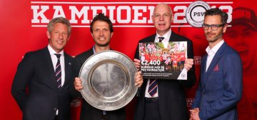 Kampioensgift Triple Double aan PSV Foundation