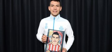 Lozano included in list of the world's best 50 football players