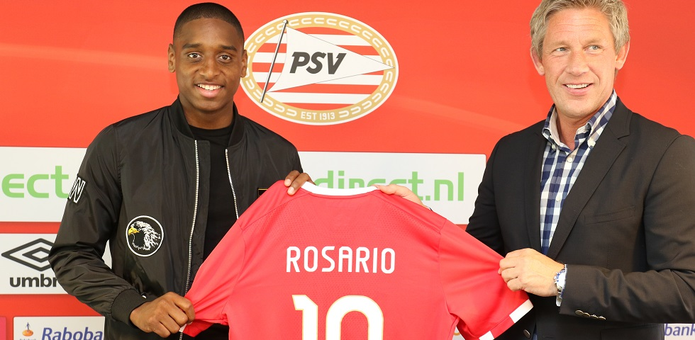 Rosario joins PSV from Almere City FC
