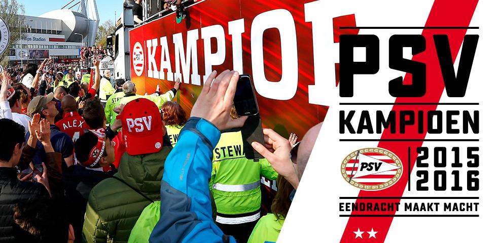 PSV.nl - Programma huldiging PSV