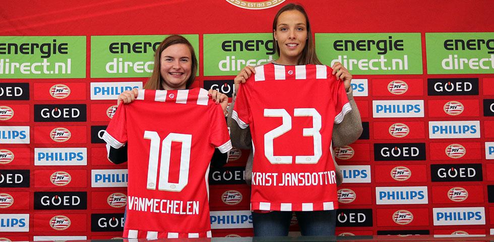 Dubbele versterking voor PSV Vrouwen