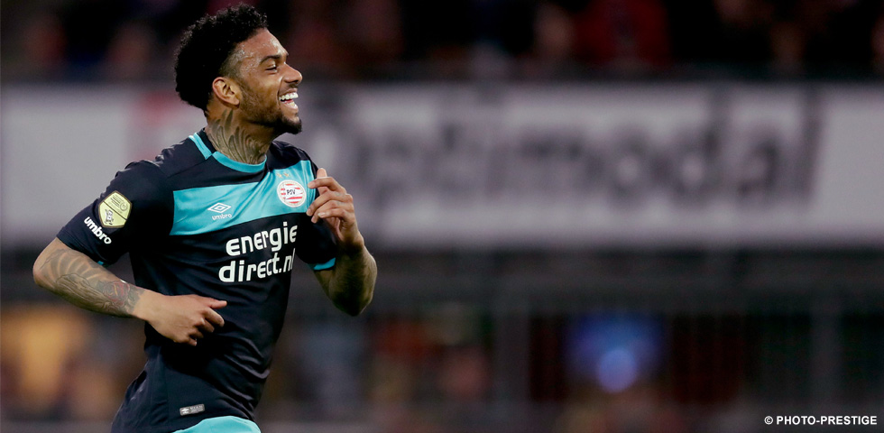 Locadia instrumental in PSV's 2-0 win over Sparta